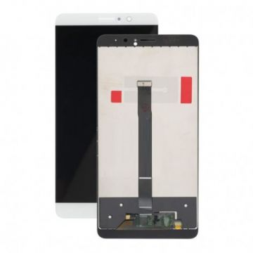 Ecran LCD et vitre tactile Assembles pour Huawei Mate 9 Blanc