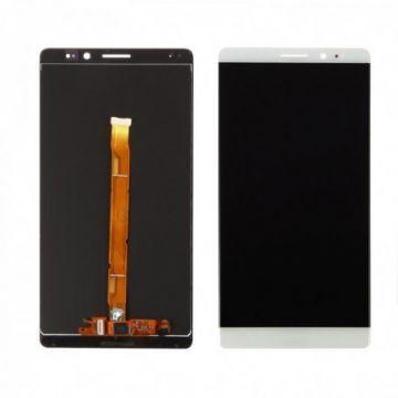 Ecran LCD et vitre tactile Assembles pour Huawei Mate 8 Blanc