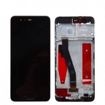 Ecran complet Noir Huawei P10 (avec chässis)