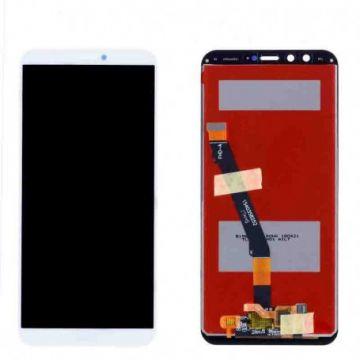 Ecran LCD et vitre tactile Assembles pour Huawei HONOR 9 Lite blanc