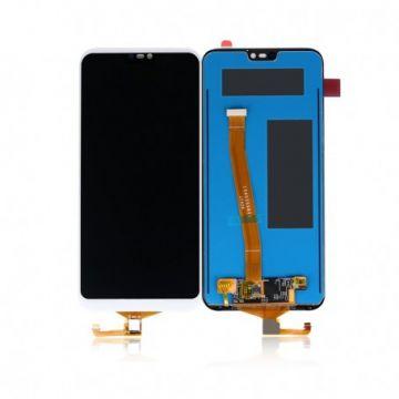 Ecran LCD et vitre tactile Assembles pour Huawei P20 Lite et Nova 3e Blanc
