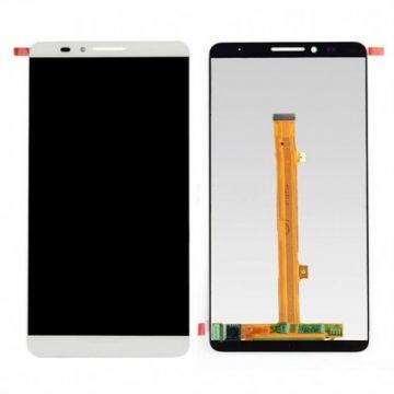 Ecran LCD et vitre tactile Assembles pour Huawei Mate 7 Blanc