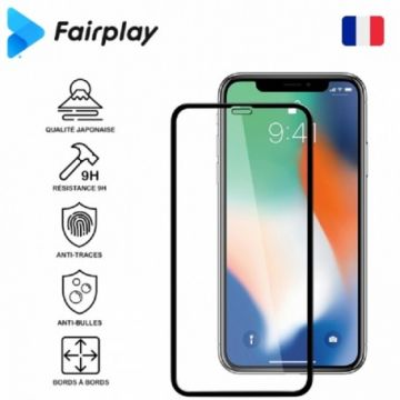 Antichoc Verre de Protection Fairplay Full 3D pour Samsung Galaxy A50