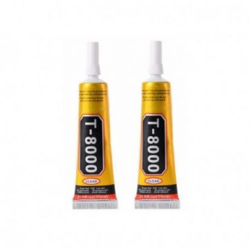 COLLE T8000 15 ML SPECIALE REPARATION ELECTRONIQUE BIJOUX ARTISANAT