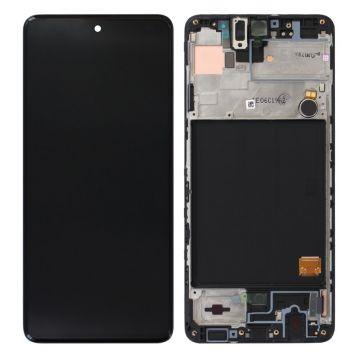 Ecran Complet Noir Galaxy A51 (A515F) ServicePack
