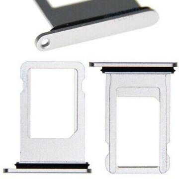 Tiroir Sim Argent iPhone 8/8 Plus