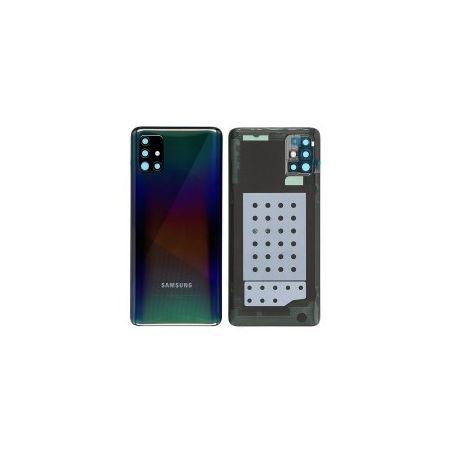 Vitre Arrière Noire Galaxy A51 (A515F) Service Pack