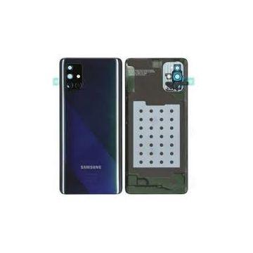 Vitre Arrière Noire Galaxy A71 (A715F) Service Pack