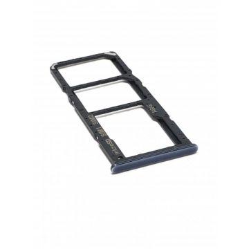 Tiroir SIM Noir Galaxy A71 (A715F)