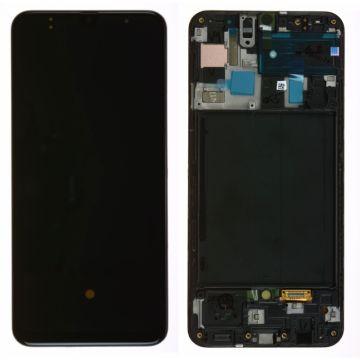 Ecran Complet Noir Galaxy A50 (A505F)