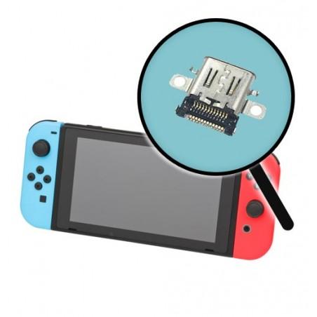 Reparation connecteur charge alimentation usb Nintendo Switch