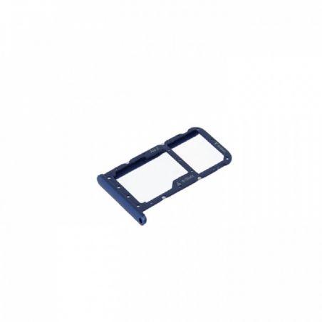 Tiroir SIM Bleu Huawei P20 Lite