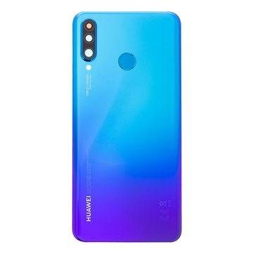 Vitre Arriere Original Bleue Huawei P30 Lite