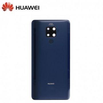 Vitre Arriere Original Bleue pour Huawei Mate 20 X (Service Pack)