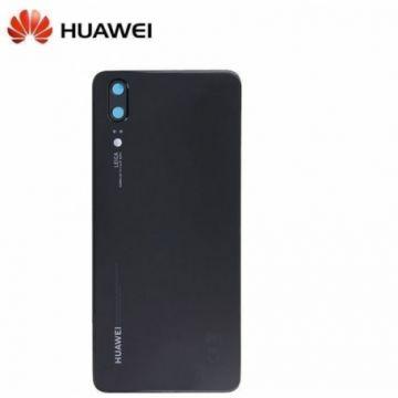 Vitre Arriere Original Noire pour Huawei P20