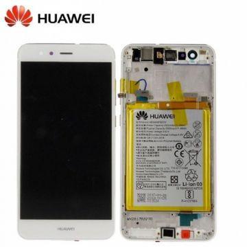 Ecran LCD et vitre tactile Assembles Blanc pour Huawei P10 Lite (Service Pack)