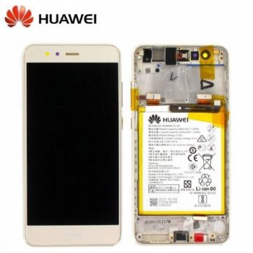 Ecran LCD et vitre tactile assembles Gold pour Huawei P10 Lite (Service Pack)