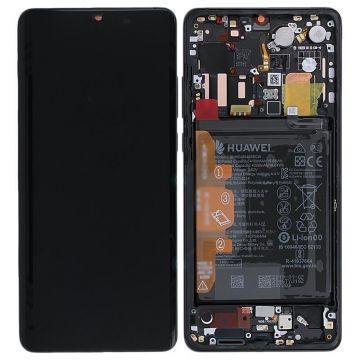 Ecran Complet Noir Huawei P30 Pro (Service Pack)