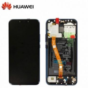 Ecran Complet Bleu Huawei Mate 20 Lite (Service Pack)