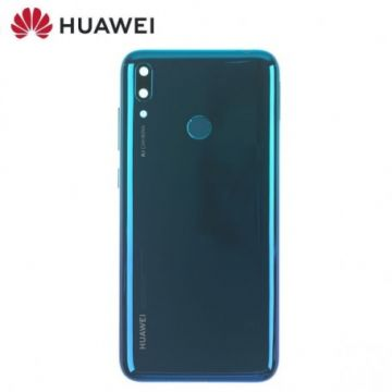 Coque Arriere Bleu Huawei Y7 2019 (Service Pack)
