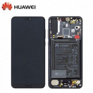 Ecran Complet Noir Huawei P20 Pro (Service Pack)