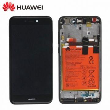 Ecran LCD et vitre tactile Assembles Noir pour Huawei P8 Lite 2017 (Service Pack)