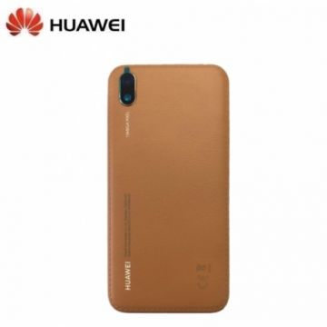 Coque Arriere Marron Ambre Huawei Y5 2019 (Service Pack)