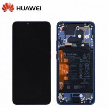 Ecran Complet Bleu Huawei Mate 20 Pro (Service Pack)