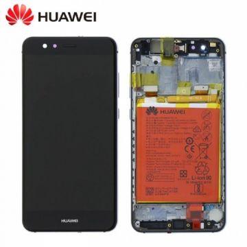 Ecran LCD et vitre tactile Assembles Noir pour Huawei P10 Lite (Service Pack)