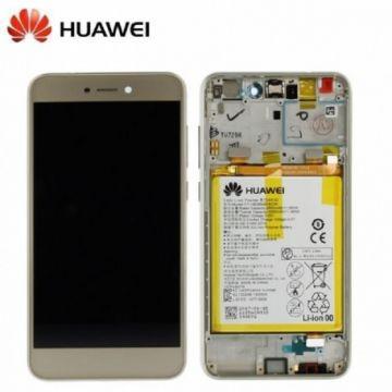 Ecran LCD et vitre tactile Assembles Gold pour Huawei P8 Lite 2017 (Service Pack)