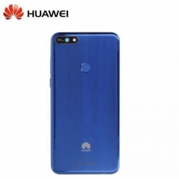 Coque Arriere Bleu Huawei Y7 2018