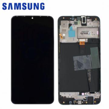 Ecran Complet Noir Samsung Galaxy A10 (A105FN) (Service Pack)