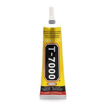 Colle liquide T-7000 50 ml Noire Special Reparation Eletronique bijoux artisanat