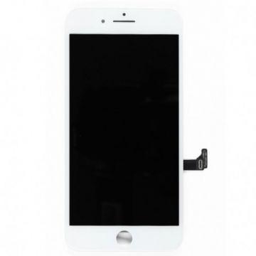 ECRAN LCD ET VITRE TACTILE ASSEMBLES IPHONE 7 PLUS BLANC
