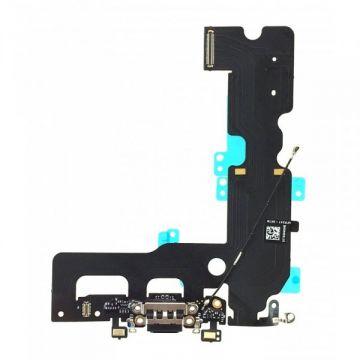 Dock connecteur de charge iPhone 7 Plus Noir