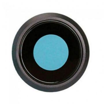 Lentille avec contour Camera Arriere Noir iPhone 8