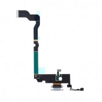 Connecteur de Charge Argent pour iPhone XS Max