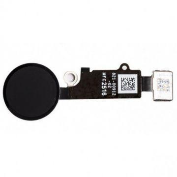Bouton home Noir avec nappe pour iPhone 7/7 Plus /8/8 Plus (cosmetic)