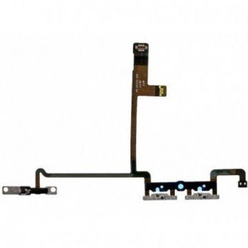 Nappe Volume-Vibreur iPhone X Pices Metalliques integrees