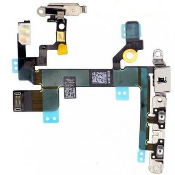 Nappe power ON/OFF vibreur iPhone 5s elements Metalliques installes