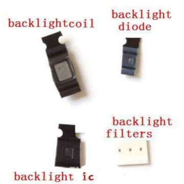 KIT BLACKLIGHT DIODE D1501 IC1502 COIL 1503 BLACKLIGHT FILTRE IPHONE 6/6 PLUS
