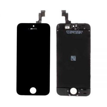 IPHONE 5C NOIR ECRAN LCD ET VITRE TACTILE ASSEMBLES