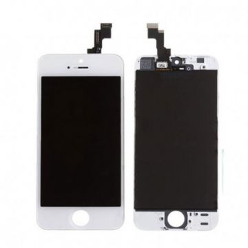 IPHONE 5C BLANC ECRAN LCD ET VITRE TACTILE ASSEMBLES