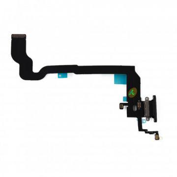 Dock connecteur de charge pour iPhone X Noir