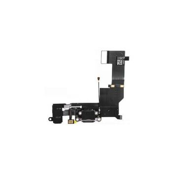 Dock connecteur de charge pour iPhone 5S Noir