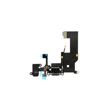 Dock connecteur de charge iPhone 5 Noir