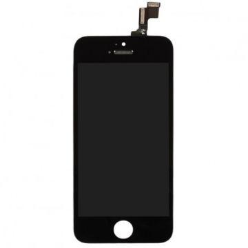 IPHONE SE NOIR ECRAN LCD ET VITRE TACTILE ASSEMBLES