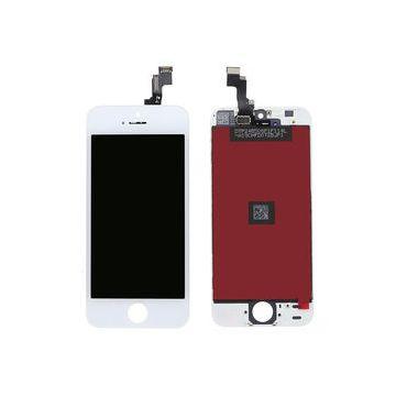 IPHONE SE BLANC ECRAN LCD ET VITRE TACTILE ASSEMBLES