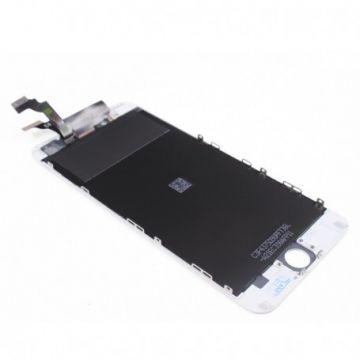 ECRAN LCD ET VITRE TACTILE ASSEMBLES IPHONE 6 PLUS BLANC