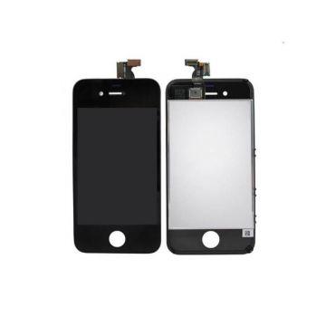 IPHONE 4 NOIR ECRAN LCD ET VITRE TACTILE ASSEMBLES